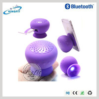 Silicone Mini Bluetooth Vibration Suction Cup Speaker with low price