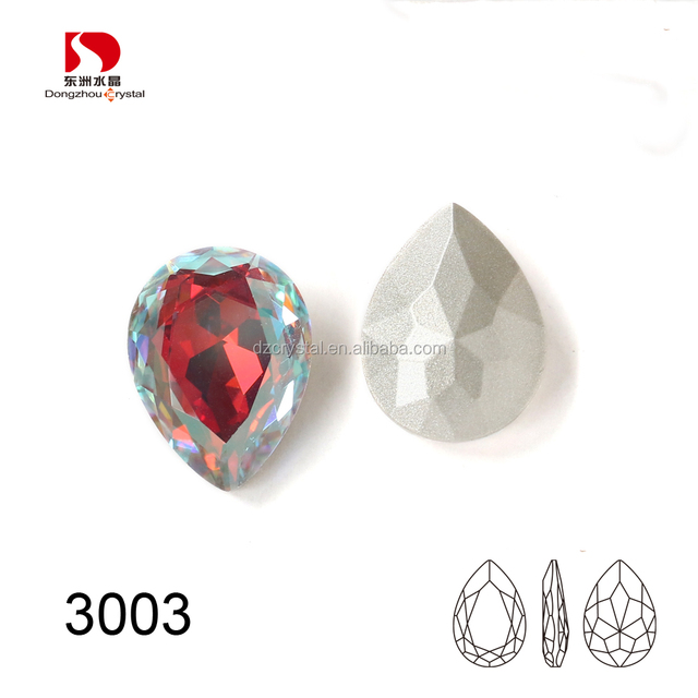 Wholsale Crystal Fancy Stone Tear Drop Beads For Jewelry Making