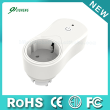 Wireless WIFI Smart Electrical Power Socket with EU Plug and CE ROHS