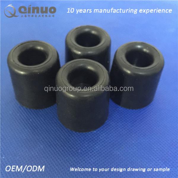 Shanghai Qinuo 20x10mm Silicone Molded Door Stop Rubber