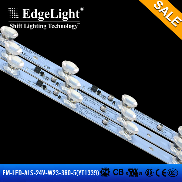 Edgelight EM-24V-W23-360-5-PE-YT-1339 super bright aquarium led lighting