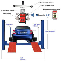 Worthy solution suit 4 post car lift + wheel alignment machine price