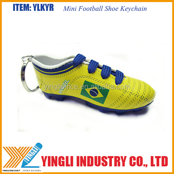Hanging Soccer Shoe shaped car air freshener for car decoration of world cup gift