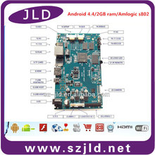 JLD Mainboard for LCD Monitor USB Video Media Player pcba Advertising motherboard
