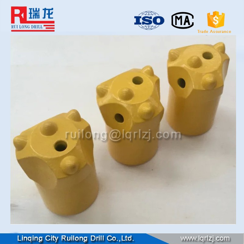7/11/12 Degree 34mm 36mm 38mm 42mm Chisel Drill Bit Hard Rock Drill Bit