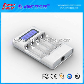 Shenzhen factory outlet fast cheap NiMH Charger for 4 AA/AAA cells