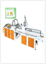 Hot sell Printed and unprinted T-shirt plastic bag making machine price