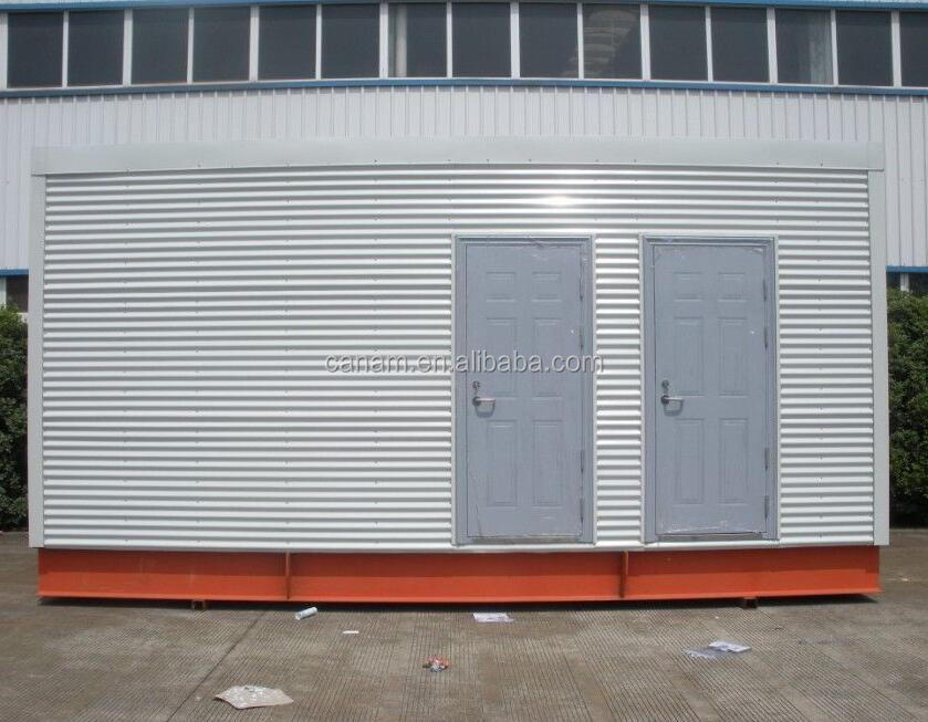 prefab portable sandwich panel container house prefabricated small log cabin