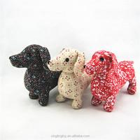 dachshund shaped customized soft plush animals toys stuffed plush toy dog
