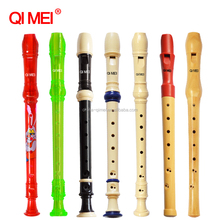 8-Hole Soprano plastic flute and recorder