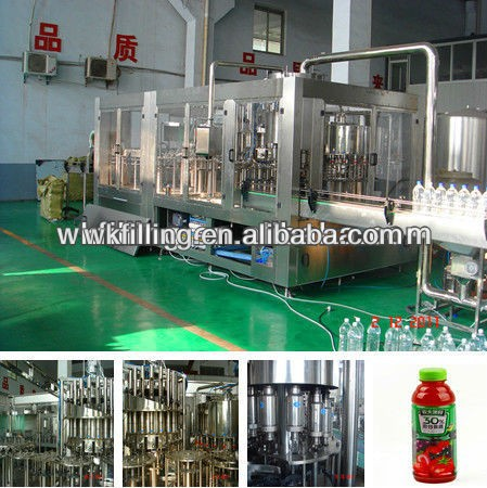 3000-5000bph Fresh fruit juice filling/making machinery