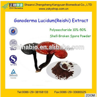 GMP Manufacturer supply 100% natural and high quality Reishi Extract