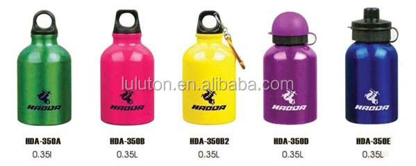 Gifts/Promotion trade assurance covered water container,aluminum bottle eco-friendly