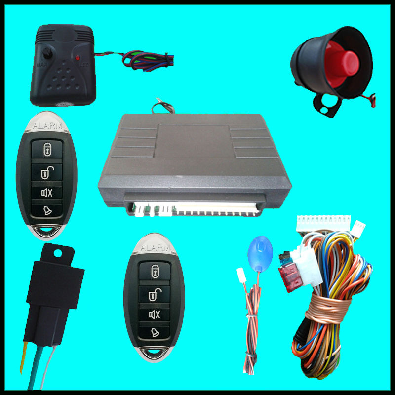 One Way Car Security Alarm Five Buttons Remote Controls Compatible With All Cars