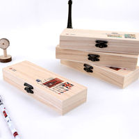 LANGUO back to school stationery sets of wooden pencil box/pencil cases for wholesales model:LGYP-2563