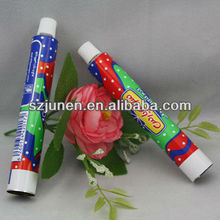 aluminum salad sauce cream tubes packaging food grade