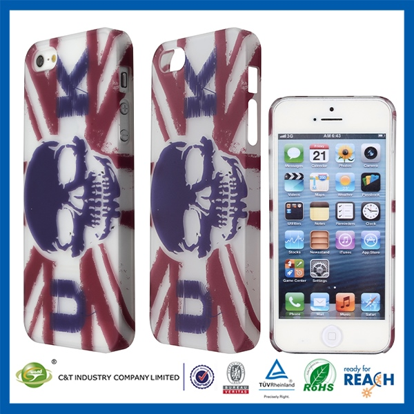 Premium Smartphone rubber oil painting hard case for iphone5