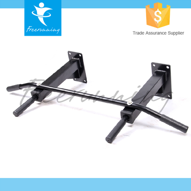 Body Building Adjustable Wall Mount Portable Pull Up Bar