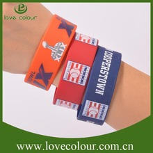 High quality custom varvious diy charm silicone bracelets