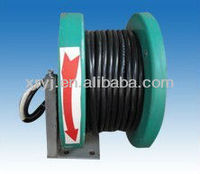 Plastic cable reel with slip ring and brush gear,Keep pace with mobile equipment operation
