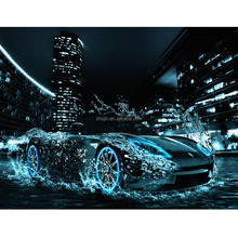 Modern style sports car craft art DIY full diamond painting <strong>picture</strong>