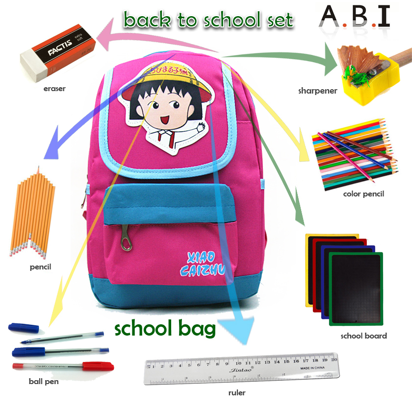 Top Quality Cheap Back To School Government BID stationery set