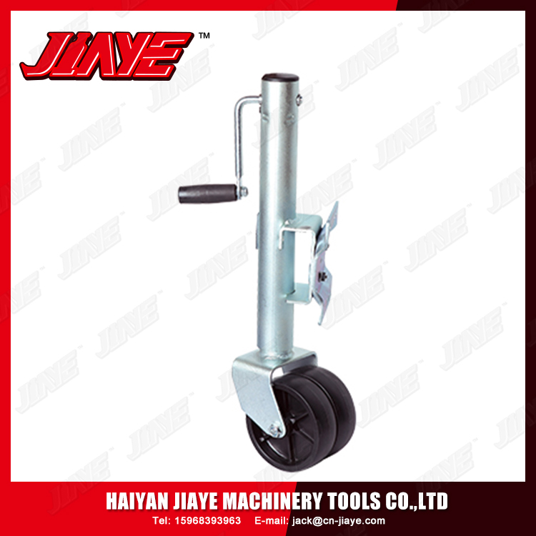 With Wheel Swivel Adjust Leveling Lift Trailer Jack