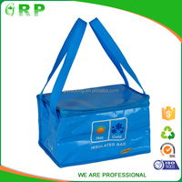 Best quality recycled insulated lunch woven cooler bag with durable hard liner