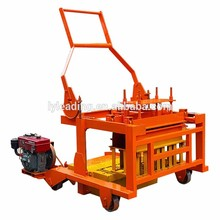QMY4-30 Diesel Hollow Cement Concrete Brick Block Moulding Machine Maker In China