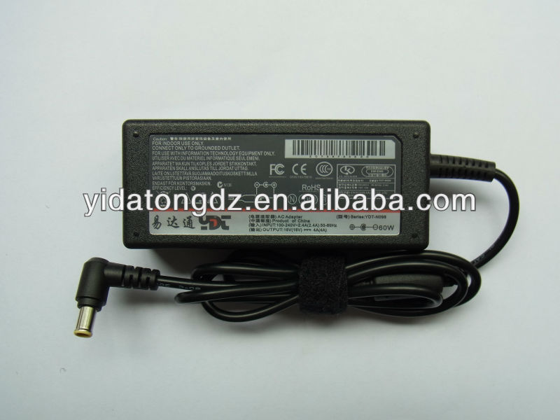 Power supply 16V4A 6.5pin for AC adapter