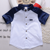 YE2139 latest design kids clothing summer fancy casual boys shirts