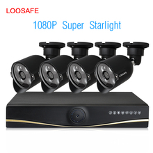 4CH 1080P AHD Kit Night Vision Security Camera CCTV DVR