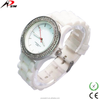 OEM brand name watch silicone band watches 2015 quartz movt wholesale watch product