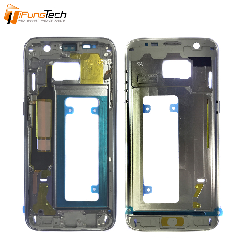 Housing Case Replacement Parts For Samsung Galaxy S7 edge Middle Frame Chassis Bezel