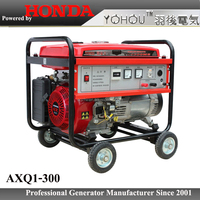 Top quality generator 5kw Petrol genset powered by HONDA