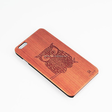 unique products 2017 custom design engraving natural wooden cell phone case for Iphone 7