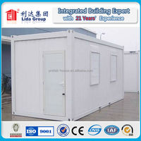 sandwich panel expandable container house in Luanda