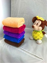 Surplus Stock Lots microfiber coral fleece towel