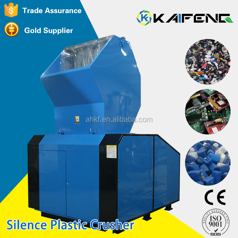 Good Performance Plastic Shredder Bubble Wrap Film Crusher With Low Performance