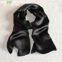 Chinese wholesale fashion lady's 100 silk satin square scarf