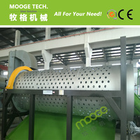 CE passed trommel separator for PE/PP film recycling