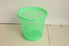 Cheap Plastic Wastepapaer Basket waste paper bin/container