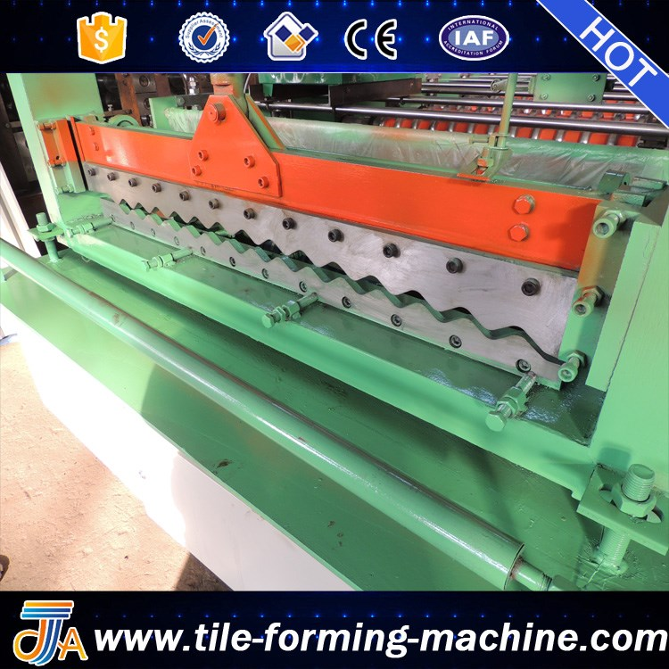 corrugated 8.5 rib machine for market bello lin