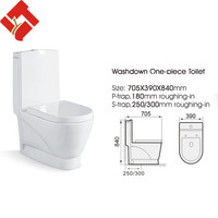 sanitary ware china wholesale washdown wc toilet tube