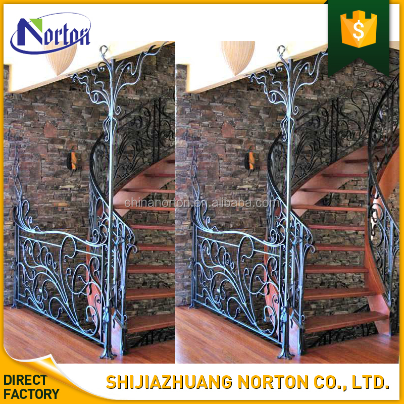 residential decor European used wrought iron fence panels NT-WIY116