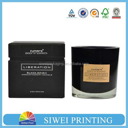 logo printing and custom design candle box packaging,gift box packaging, paper box manufacturer