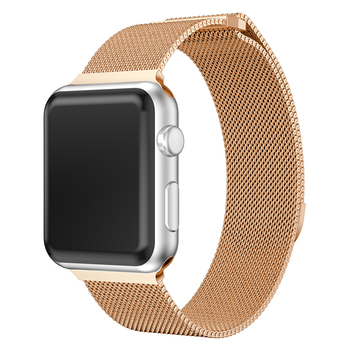Milanese Loop Strap Stainless Steel Band For Apple Watch Series 4 3 2 1