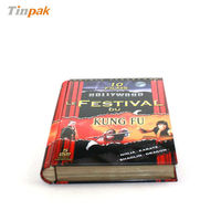 Book shaped metal DVD case