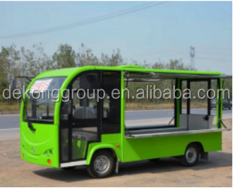 M cheap electric car 4 wheels mobile food vans