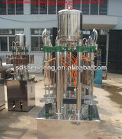 Beer filling machine, manual bottle filling system